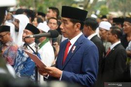 Jokowi: Ani Yudhoyono peduli masyarakat daerah bencana-perbatasan