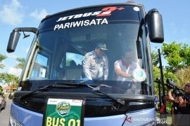 Wabup Badung lepas 590 pemudik Indomaret-Bank Mandiri