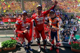 """Ducati lengkapi """"hattrick"""" Juara GP Italia"""