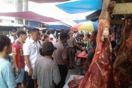 Satgas Pangan lakukan inspeksi mendadak ke Pasar Toboali
