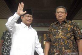 Gerindra sebut SBY minta Prabowo ungkap pilihan politik Ani Yudhoyono