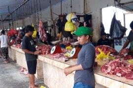 Harga daging sapi di Ternate pada H-1 Idul Fitri naik