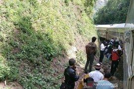 Lagi, kereta anjlok di Nagreg, kali ini menimpa kereta Serayu Pagi