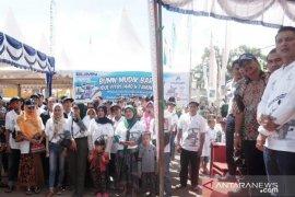 PT. Inalum  berangkatkan ribuan pemudik gratis