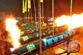 212 meriam karbit meriahkan malam takbiran di Pontianak