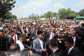 Idul Fitri 1440 H untuk bersilaturahim dan menyambung relasi ala  Jokowi