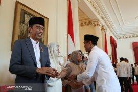 Presiden berlebaran di Jakarta