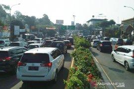 Lebara, 31.220 kendaraan masuk jalur Puncak