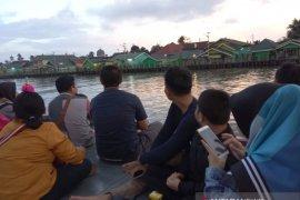 Libur Lebaran wisata susur sungai, Kalsel ramai pengunjung