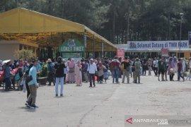 Pengunjung wisata di Puncak Bogor melonjak