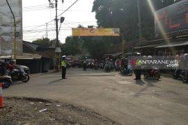 Rekayasa lalu lintas diberlakukan saat puncak arus balik di Sukabumi