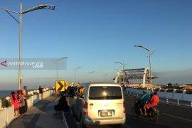 Jembatan Suroboyo jadi lokasi swafoto saat libur Lebaran 2019