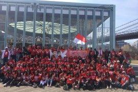 Relawan Jokowi-Ma'ruf Amin Amerika Bersatu bentuk kepengurusan