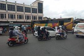 Arus mudik di terminal KM-6 Kalsel mulai berkurang