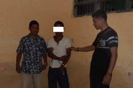 Polisi Aceh Utara amankan pria gangguan jiwa menenteng parang