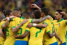 Pertandingan persahabatan, Brasil hancurkan Honduras tujuh gol