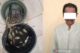 Polsek Daha Utara kembali amankan penyetrum ikan