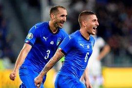 Italia jaga catatan sempurna Grup J