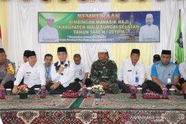 310 Hajj prospectives undergo manasik haji in HSS