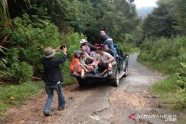 Sejumlah pendaki Gunung Sibayak tersambar petir