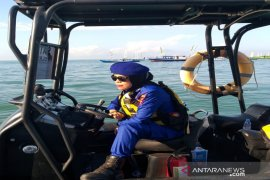 Srikandi Satpolairud ready to guard the waters of Tanah Bumbu