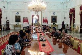 Presiden Jokowi terima Apindo bahas upaya perbaikan ekonomi
