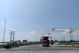 Volume kendaraan di tol Paspro selama Lebaran melebihi target