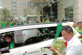 Menteri ESDM melepas uji kelayakan jalan bahan bakar B30