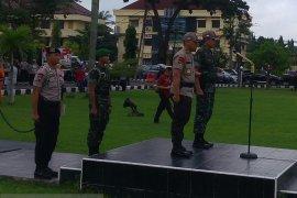 Kodam II Sriwijaya sebar prajurit di lima polda
