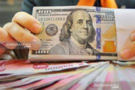 Perdagangan Rupiah akhir pekan ditutup negatif, karena sentimen global