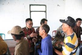 Huntara bagi warga Sukaresmi terdampak tsunami di lahan reforma agraria