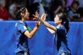 Timnas putri Jepang taklukkan Skotlandia 2-1