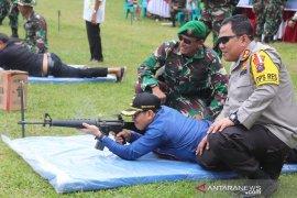 Kandangan Kodim held a shooting contest