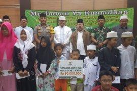 Penerimaan zakat fitrah melalui UPZ Kota Tangerang Rp2,5 miliar