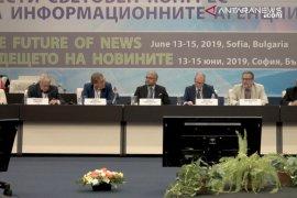 Model bisnis Perum LKBN Antara diapresiasi peserta kongres Kantor Berita se-dunia