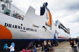 Dharma Lautan ships 18 thousand mudik travellers in lebaran