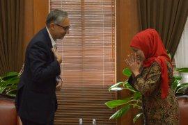 Akhiri masa jabatan, Dubes Inggris Moazzam Malik berpamitan di Surabaya (Video)