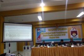 Seluruh komisioner KPU Palembang resmi tersangka pidana pemilu