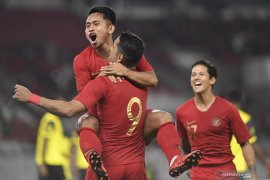 Gol Beto-Evan Dimas bawa Indonesia unggul 2-0 atas Vanuatu babak pertama