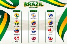 Jadwal fase grup Copa America, dibuka Brasil kontra Bolivia