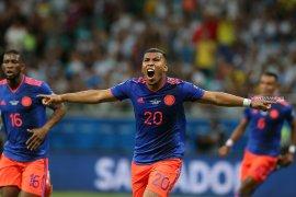 Kolombia mempermalukan Argentina dengan kemenangan dua gol tanpa balas
