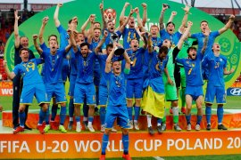 Bekuk Korsel, Ukraina juara Piala Dunia U20
