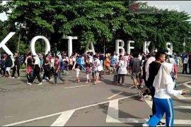 Car free day di Bekasi kembali dibuka