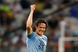 Start bagus Cavani bagi Uruguay  di Copa America