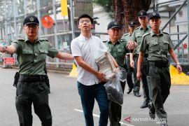 Aktivis Hong Kong Joshua Wong dihukum lebih empat bulan