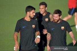 Barcelona siap jual Coutinho dan Dembele demi pulangkan Neymar