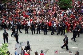 Waduh, Penembakan terjadi di tengah parade juara Raptors