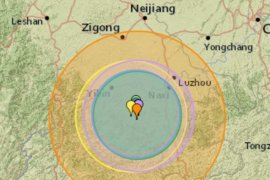 Gempa bumi di barat daya China telan empat  nyawa