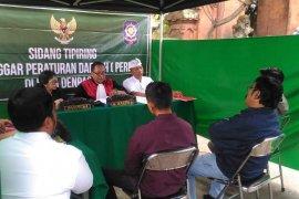 Satpol PP Denpasar adakan sidang tipiring 14 pelanggar KTR