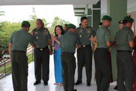 Pangdam XII/Tanjungpura gelar halal bihalal dengan prajurit, PNS dan Persit